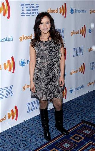 Actress Rosie Perez attends the 21st annual GLAAD Media Awards in New York, on Saturday, March 13, 2010. (AP Photo/Peter Kramer) By Peter Kramer