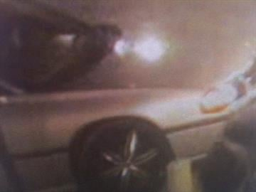Photo of suspect's car from security camera at store By Lakisha Jackson