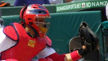 Cardinals catcher Yadier Molina By Lakisha Jackson