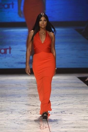 NEW YORK, NY - FEBRUARY 06:  Toni Braxton walks the runway at The Heart Truth 2013 Fashion Show at Hammerstein Ballroom on February 6, 2013 in New York City.  (Photo by Frazer Harrison/Getty Images for Heart Truth) By Frazer Harrison