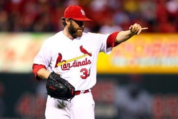 #8 Jason Motte $6,000,000 … Motte signed a big deal for 2013 … in 2012 he took in an average of $29,000 for each of his 67 games or $46,428 for each of his 42 saves.  (Photo by Dilip Vishwanat/Getty Images) By Dilip Vishwanat