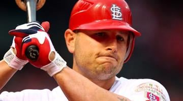 #2 Matt Holliday $17,000,000 … In 2012 he averaged more than $108,000 per game, $24,000 per at bat or $629,000 for each of his 27 home runs. (Photo by Dilip Vishwanat/Getty Images) By Dilip Vishwanat
