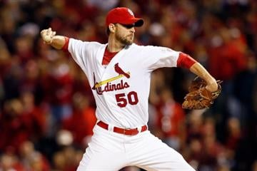 #4 Adam Wainwright $19,500,000 … The Cards stepped up to keep their ace in March 2013 with a five-year $97.5 million deal making him the highest paid player on the team.  In 2012 Waino made $12,000,000. (Photo by Kevin C. Cox/Getty Images) By Kevin C. Cox
