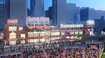 A rendering of Ballpark Village, Phase 1 By Brendan Marks