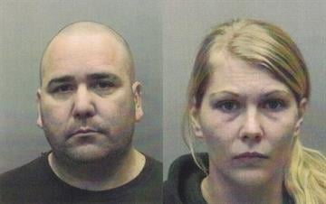 Darren Everett, 42, and Mackenzie Leonard, 26, were each charged with three counts of first-degree robbery, and one count of armed criminal action. By Dan Mueller