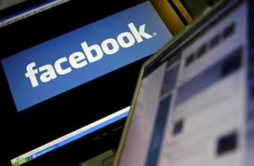 The logo of social networking website 'Facebook' is displayed on a computer screen in London, 12 December 2007. AFP PHOTO/LEON NEAL (Photo credit should read Leon Neal/AFP/Getty Images) By LEON NEAL
