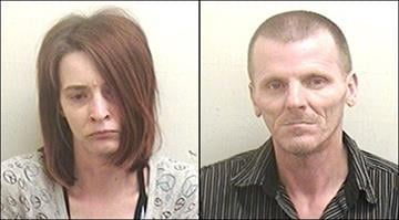 Richard Young, 48, and Elizabeth Young, 32, were arrested and charged Monday in the death of a blind Belleville man who authorities say weighed just 60 pounds. By Brendan Marks