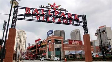 Members of the media were allowed access to check out the progress of Ballpark Village on Tues., March 25, days before the much-anticipated entertainment district was set to open its doors to the public. By Brendan Marks