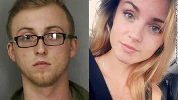 "Brandon Goode, 18, and Alexandria ""Alex"" Hollinghurst, 17, both of Davenport, Florida, are accused of fatally shooting a police officer before apparently committing suicide. By Brendan Marks"
