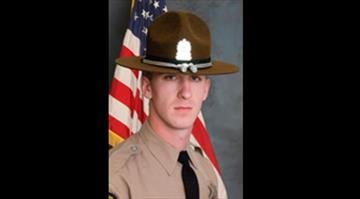 """""""Operation Sauter"""" will honor fallen trooper James Sauter who was killed on March 28 when his squad was struck by a tractor truck semi-trailer at I-294 southbound at Willow Rd. By KMOV.com staff"""