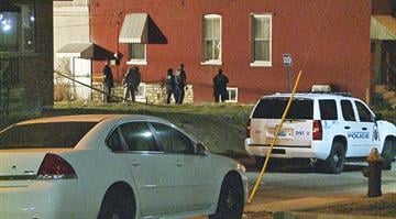 Police investigate the scene of a homicide in south St. Louis By KMOV Web Producer