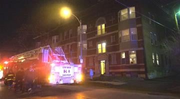 Firefighters battle apartment blaze in the CWE By KMOV Web Producer