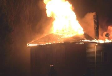 Firefighter battle house blaze in the Metro-East By KMOV Web Producer
