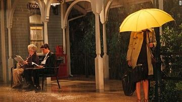 The Mother's yellow umbrella has shown up countless times over the years and we recently got a glimpse of it one more time just moments before she was going to meet Ted. We'll see you at that train station at the end of the finale. By CNN