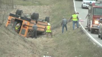 Nearly two dozen students were injured in northeast Missouri on Tuesday when a school bus overturned in a ditch on a rural road near the Illinois border, the state Highway Patrol reported. By KMOV.com staff