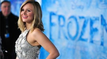 """HOLLYWOOD, CA - NOVEMBER 19:  Actress Kristen Bell attends the premiere of Walt Disney Animation Studios' """"Frozen""""at the El Capitan Theatre on November 19, 2013 in Hollywood, California.  (Photo by Frazer Harrison/Getty Images) By Frazer Harrison"""