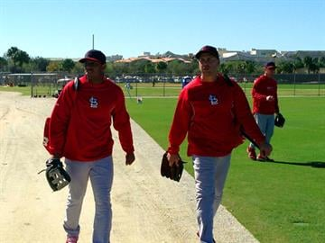 Oscar Taveras Carlos Beltran and Cardinals Spring Training. By Bryce Moore