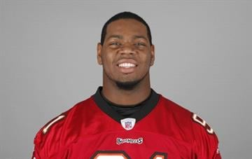 TAMPA, FL - CIRCA 2011: In this handout image provided by the NFL, DaQuan Bowers of the Tampa Bay Buccaneers poses for his NFL headshot circa 2011 in Tampa, Florida. (Photo by NFL via Getty Images) By Handout