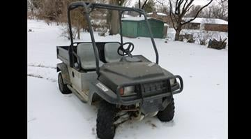 Police believe the suspect was driving an ATV that looked very similar to this one By KMOV Web Producer