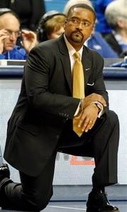 Missouri head coach Frank Haith watches his team during the first half of an NCAA college basketball game against Kentucky at Rupp Arena in Lexington, Ky., Saturday, Feb. 23, 2013. (AP Photo/James Crisp) By James Crisp
