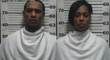 Annalisa McGhee, 26, and Altonio Graves, 37, are charged with armed robbery and aggravated robbery after the pair allegedly robbed the People's Bank and Trust Tuesday February 27. By Sarah Heath