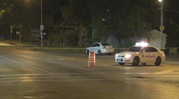 Police are looking for suspects after a 9-year-old boy was shot in the head while traveling in a vehicle in north St. Louis early Wednesday morning. By Brendan Marks