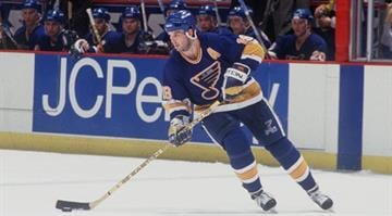 Brendan Shanahan spent 4 seasons in St. Louis (1991-1994) and scored 156 goals during that span. Shanahan found the back of the net 656 times during his 22 year career ranking 13th on the all-time NHL scoring list.