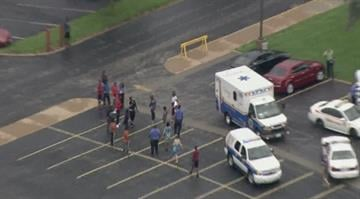 At least one person was hospitalized after an apparent chemical spill at Hazelwood East High School in north St. Louis County on Wednesday. By Belo Content KMOV