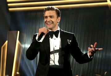 LOS ANGELES, CA - FEBRUARY 10:  Singer Justin Timberlake onstage during the 55th Annual GRAMMY Awards at STAPLES Center on February 10, 2013 in Los Angeles, California.  (Photo by Christopher Polk/Getty Images for NARAS) By Christopher Polk