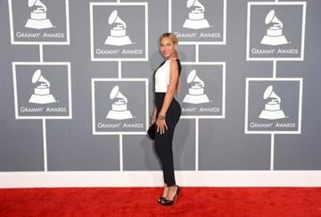 LOS ANGELES, CA - FEBRUARY 10:  Singer Beyonce arrives at the 55th Annual GRAMMY Awards at Staples Center on February 10, 2013 in Los Angeles, California.  (Photo by Jason Merritt/Getty Images) By Jason Merritt