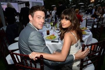 LOS ANGELES, CA - JUNE 08:  Actors Cory Monteith (L) and Lea Michele attend the 12th Annual Chrysalis Butterfly Ball on June 8, 2013 in Los Angeles, California.  (Photo by Michael Buckner/Getty Images for Chrysalis) By Michael Buckner