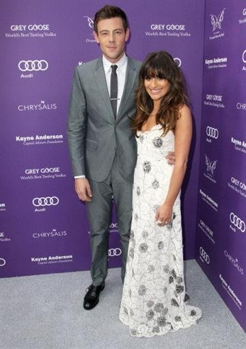 LOS ANGELES, CA - JUNE 08:  Actors Cory Monteith and Lea Michele arrive at the 12th Annual Chrysalis Butterfly Ball on June 8, 2013 in Los Angeles, California.  (Photo by Jonathan Leibson/Getty Images for Chrysalis) By Jonathan Leibson
