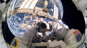 NASA says an Italian astronaut could have choked or drowned from water that leaked into his helmet during a spacewalk. By NASA