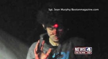 A police photographer, furious with a Rolling Stone cover photo he believes glamorizes Tsarnaev, releases images from the day the teen was captured. By KMOV Web Producer
