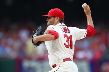 ST. LOUIS, MO - JULY 20: Starter Lance Lynn #31 of the St. Louis Cardinals pitches against the San Diego Padres at Busch Stadium on July 20, 2013 in St. Louis, Missouri.  (Photo by Dilip Vishwanat/Getty Images) By Dilip Vishwanat