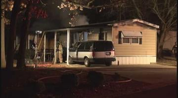 (KMOV.com) – A mobile home suffered minor damage after catching fire early Monday morning. By KMOV