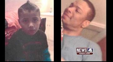 Police are searching for Demitrius Beasley, 40, and Markell Beasley, 6. By Stephanie Baumer