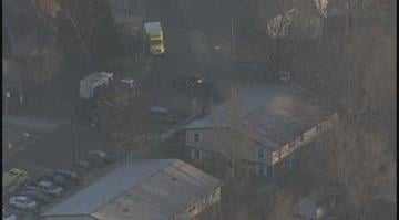 (KMOV.com) Firefighters responded to a blaze in Worden, Ill. Early Thursday morning. By Stephanie Baumer