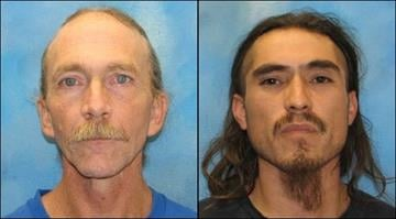 Martin Williams (left) told the court a woman died after overdosing on meth. He and 31-year-old Juan Naranjo (right) stashed her body for two days before dumping it. By Brendan Marks