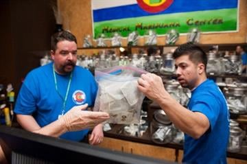 Colorado ushers in 2014 with Rocky Mountain High.  Legal sales of recreational pot have begun in the state, which is taxing marijuana 25 percent. By Theo Stroomer