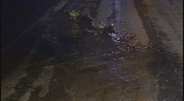 (KMOV.com) – A water main break caused an early morning accident and a road closure in north St. Louis County Tuesday morning. By Stephanie Baumer