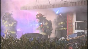 (KMOV.com) – Four departments were needed to battle a blaze in Olivette Wednesday night. By Stephanie Baumer