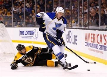 The 30-year-old Edmonton, Alberta, native appeared in the 2006 Olympics for Canada and then joins his line-mate Alex Pietrangelo as representatives for Hockey Canada. By Elizabeth Eisele