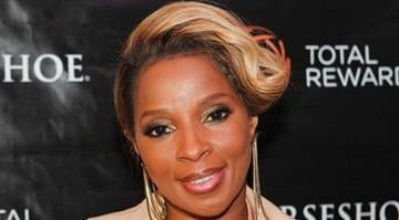 Mary J. Blige attends The Escape To Total Rewards at Woldenberg Park on March 1, 2012 in New Orleans, Louisiana.  (Photo by Skip Bolen/Getty Images for Caesars Entertainment) By Skip Bolen