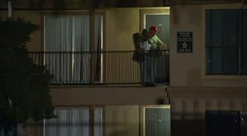Members of the American Red Cross and other groups on Thursday, October 2, 2014 responded to the Dallas, Texas apartment where Thomas Eric Duncan stayed before reporting to hospital. By Stephanie Baumer