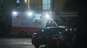 Members of the American Red Cross and other groups on Thursday, October 2, 2014 responded to the Dallas, Texas apartment where Thomas Eric Duncan stayed before reporting to hospital. By CNN