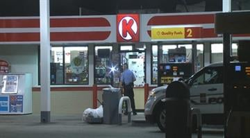 Police say the robbery occurred at the Circle K in the 8100 block of Manchester around 10:30 p.m. By Stephanie Baumer
