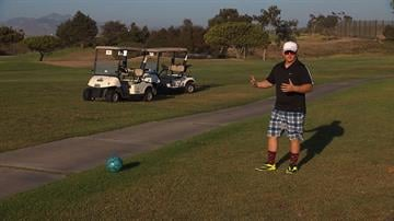 FootGolf is a soccer-golf hybrid that is being played on hundreds of courses across the U.S. It is like golf, except you use your feet and a soccer ball. FootGolf could bring new revenue to cources as the golf business declines. By CNN