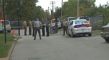 That shooting happened before 4:00 Wednesday afternoon near the Park Ridge apartments, near the intersection of Ferguson Avenue and Sharondale Circle By Stephanie Baumer
