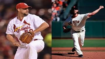 Adam Wainwright and Madison Bumgarner will take the hill in Game 1 Saturday By Daniel Fredman